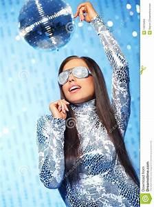 Stylish Dancing Woman Stock Images - Image: 14979494