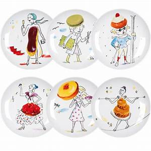 Assiette Plate Originale : assiette a dessert originale ~ Teatrodelosmanantiales.com Idées de Décoration
