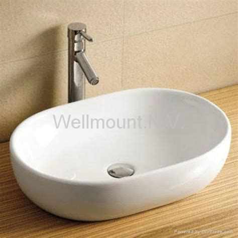 sink on top of counter design bathroom counter top ceramic white basin sink