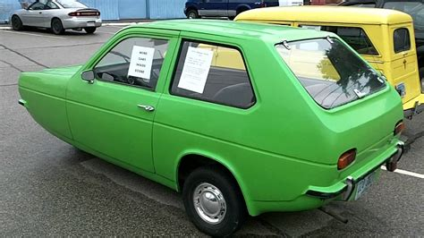 3 Wheel Car For Sale by 1974 Reliant Robin 3 Wheeled Economy Car