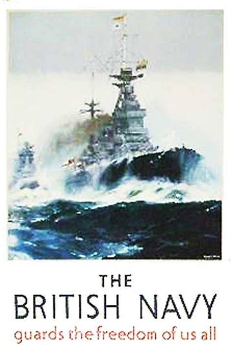 british wwii poster british navy british home fleet