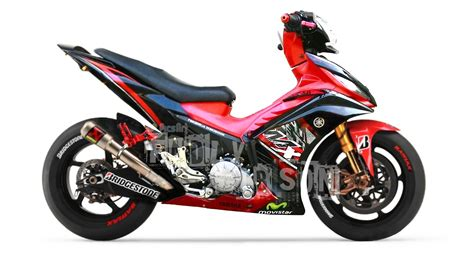 Variasi Jupiter Mx 135 by Modifikasi Jupiter Mx 135