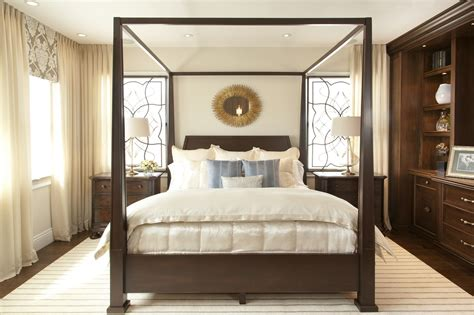 Bedroom Decor Transitional by Vibrant Transitional Master Bedroom Before And After San