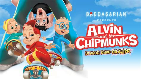 Alvin And The Chipmunks Driving Dave Crazier Youtube