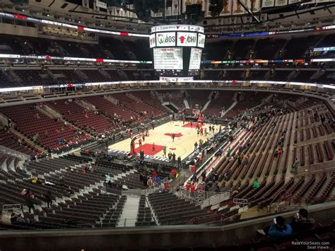 united center section  chicago bulls rateyourseatscom