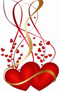 Valentine's Day Hearts Decoration PNG Clip Art Image ...