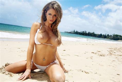 wallpaper emily addison hot babe bikini breasts tits