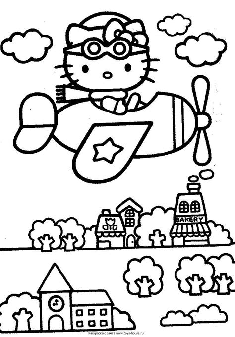 kitty coloring pages   kitty