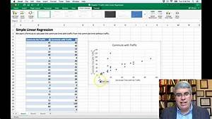 How To Do Simple Linear Regression In Excel 2016 For Mac