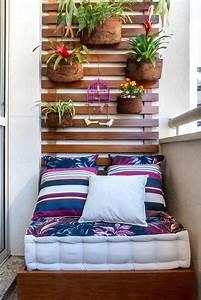 Balkon Wand Verschönern : 40 neue ideen f r balkon dekoration ~ Indierocktalk.com Haus und Dekorationen