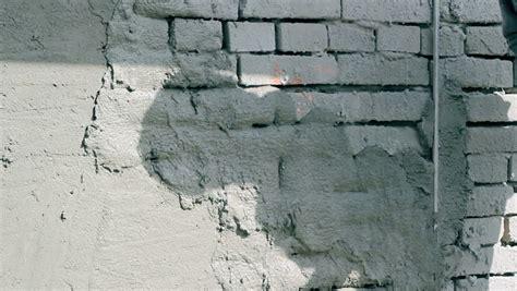 applying plaster   brick stock footage video