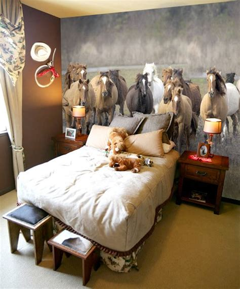 horse themed bedrooms ideas  pinterest horse