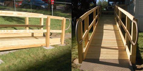 Wooden Modular Wheelchair Ramps  Pro Installations New