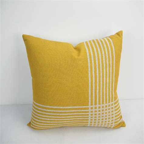 24 inch square pillow covers 24x24 inch yellow pillow cover geometric decorative throw