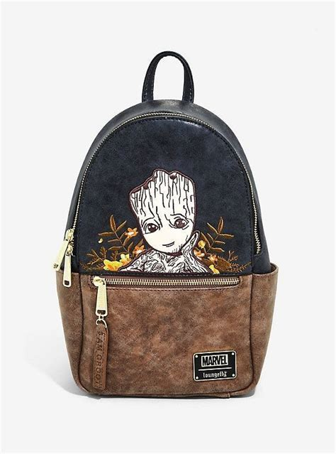 Loungefly Marvel Guardians des Galaxy Groot Floral Mini ...