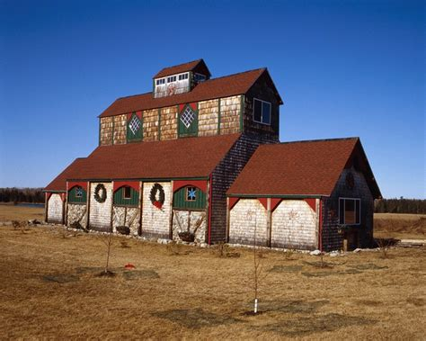 A Rather Unique Barn In Lamoine Maine