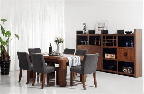 los muebles modernos del comedor fijaron set los