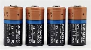 4 X Duracell 3V Ultra Lithium Battery 123 - DL123A/CR123A ...