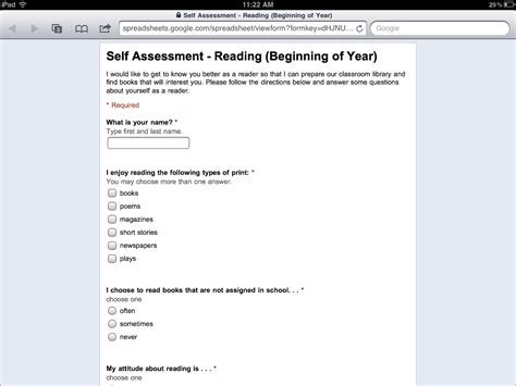 google forms shortcut eberopolis teaching reading and writing with technology
