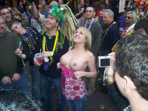 flashing at mardi gras porn pic eporner