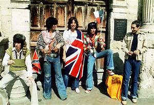 The Rolling Stones 1975 Photo Shoot At The Alamo In San ...