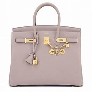 Hermes Birkin Bag 35cm Gris Asphalte Togo Gold Hardware ...  Hermes