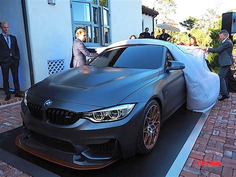 murdered  bmw concept  gts uncovered  pebble beach