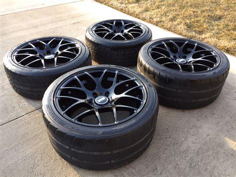 Pontiac Gto Vmr Gloss Black Staggered 18