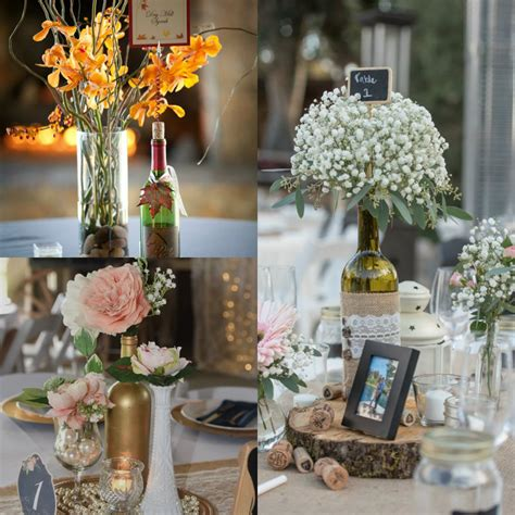 8 Diy Ideas Of Wine Bottles Wedding Centerpiece