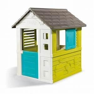 smoby maison enfant pretty jeu d39exterieur achat vente With maison d enfant exterieur