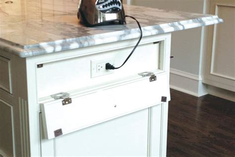 kitchen island with electrical outlet power blend creative ways with kitchen island outlets 8246