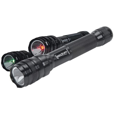 color led flashlight phoebus 174 spectrum multi color led tactical flashlight