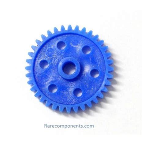 plastic spurpinion gear blue mm circular shaft gb