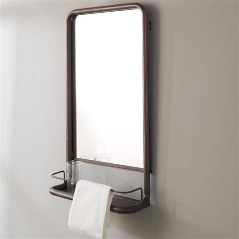 Bathroom Mirrors With Shelves by Metal Mirror With Shelf Small In 2019 R And P