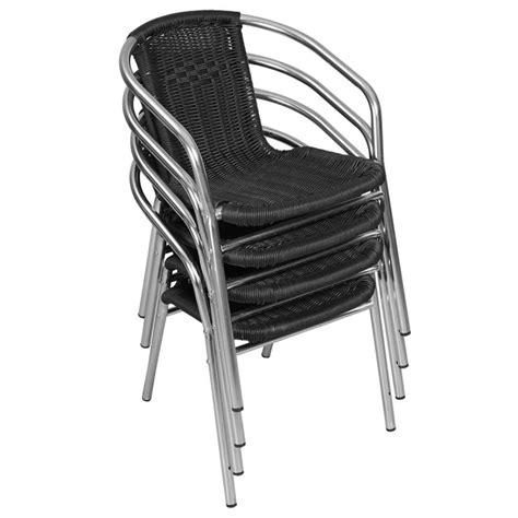 chaise aluminium pas cher fauteuil bistrot chaise terrasse pas cher mobeventpro