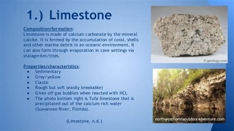 why is limestone always formed the sea quora