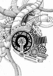 Mechanical Heart by toxinbaby on DeviantArt