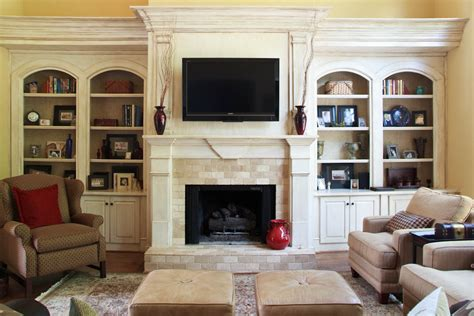 Built In Bookcase Around Fireplace by Get Inspired With Fireplace Makeover Ideas Decor Snob