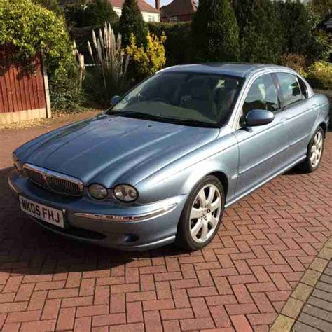 Jaguar 2005 X Type V6 Se Auto Blue. Car For Sale