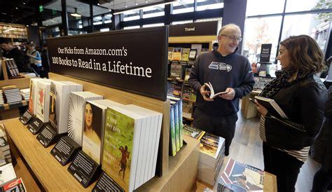 amazon opens   bookstore  extension  website