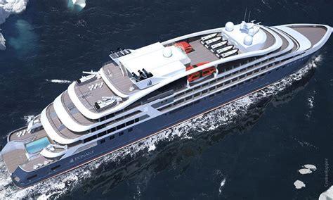 compagnie du ponant ships  itineraries