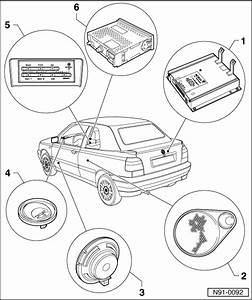 Volkswagen Workshop Manuals  U0026gt  Golf Mk3  U0026gt  Vehicle Electrics