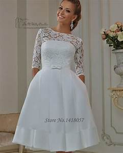 modest cheap short wedding dress plus size 2016 vestido de With plus size short lace wedding dresses