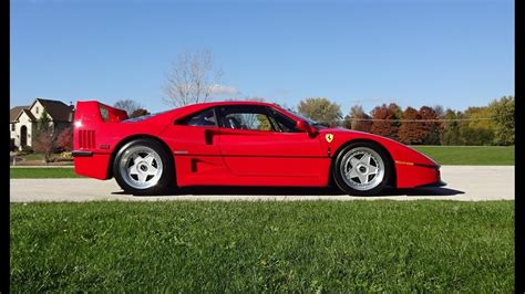 1990 f40 f 40 supercar in engine start up sound my car story with lou