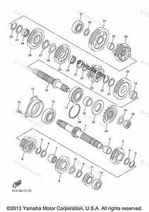 Yamaha Motorcycle 2004 Oem Parts Diagram For Transmission