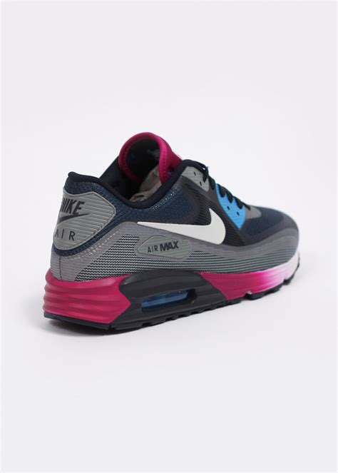 nike air max lunar 90 c3 0 trainers mid navy light grey