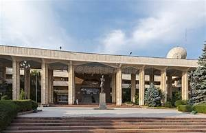Kyrgyz-Russian Slavic University Editorial Stock Photo ...