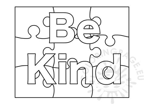 kind word coloring page coloring page