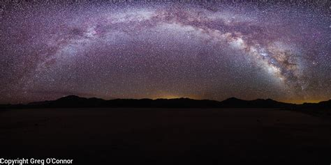 The Milky Way Racetrack Death Valley National Park