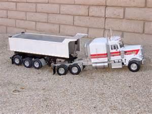 Tractor-Trailer Dump Trucks for Sale